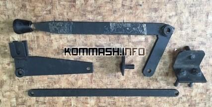 Рукоять (рычаг) включения КОМ косой зуб КО-503В 4-х ступенчатой КПП