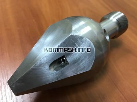 Насадок проходной ДКТ-274 дюза «Большое копье» каналопромывочная головка