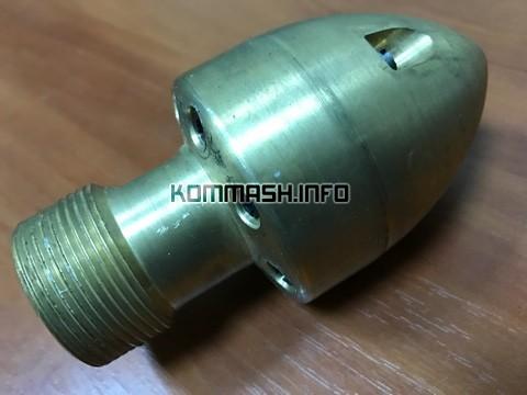 Насадок проходной ДКТ-262.1 дюза «Стрела-Копье» каналопромывочная головка