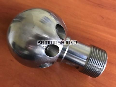Насадок проходной ДКТ-236 дюза «Ядро» каналопромывочная головка