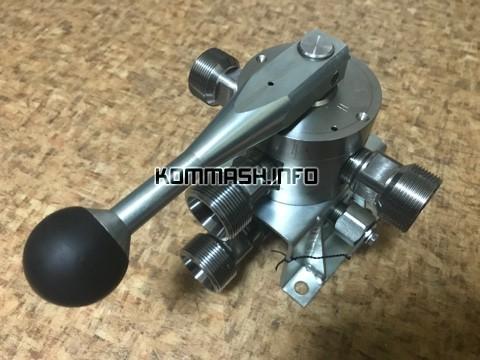 Кран ДКТ-222.15 четырехходовой высокого давления