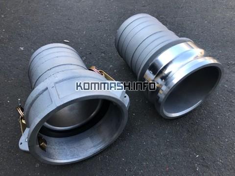 КамЛок БРС d 75 и 100 mm. для шланга/рукава